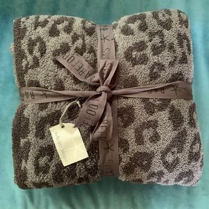 Barefoot Dreams In The Wild Leopard Throw Blanket